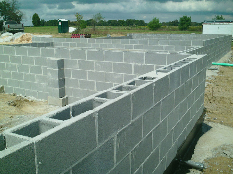 Josh tollett masonry for Block foundation