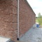 Perfect brick work on this side wall